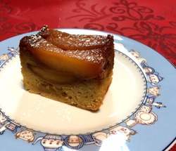 キャラメルりんごのケーキ.JPG