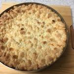クランブルチーズのりんごケーキ2.JPG