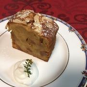米粉のキャラメルりんごのケーキ.JPG